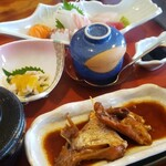 お食事処 たき - 刺身定食 1500円