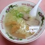 鳳蘭 - 塩ラーメン 630円