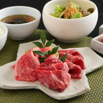牛焼肉3種盛セット