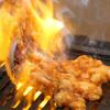 ホルモン焼き食堂 木下 - 料理写真:はみ出しちゃったホルモン焼き