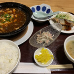 中華食堂 源 - 特製麻婆豆腐定食