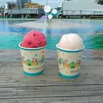 さくら亭 - 料理写真:購入したジェラートカップ、隣の公園噴水で頂きました