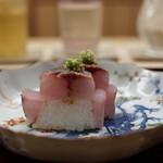 道人 - 鬼鰺のお寿司