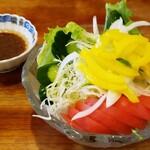お食事処 たき - 野菜サラダ  500円