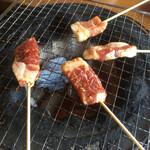 猪料理 やまおく - 焼き焼き♪