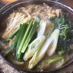 猪料理 やまおく - 猪鍋