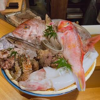 新鮮食材九州産の新鮮魚を使用☆