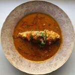インディアンスパイスファクトリー - Fish Jhol(イトヨリダイのスープカレー)