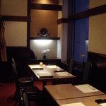 136468 - 旭鮨総本店(オペラシティ):店内個室の様子①
