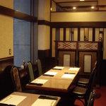 136471 - 旭鮨総本店(オペラシティ):店内個室の様子②