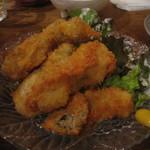 魚屋海老蔵 - 牡蠣フライ