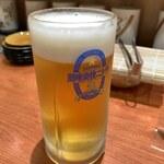 健康寿司海鮮家 - 生ビール(550円)
