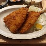 いまがわ食堂 - アジフライ定食