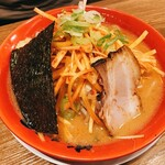 旭川味噌ラーメン ばんから - ねぎ味噌(900円)