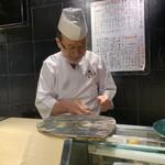 第三春美鮨 - 長山校長のお皿いろいろ