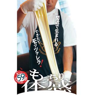 モッツァレラフェア9/28(月)スタート!
