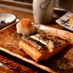 ふくべ - 鮭ハラス焼き@750円