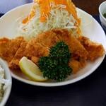 太陽食堂 - 料理写真:ササミフライ定食¥850→¥800