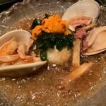 GHEE胡麻 - 四季コースのお食事「今日のおこげ」