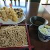 長竿亭 - 料理写真:もりそばと天ぷら
