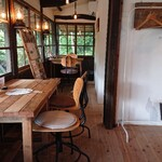 古民家カフェ きのこくらぶ - お店の中の様子