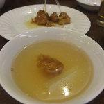 小青島 - そして氷の入ったお茶に入れる
