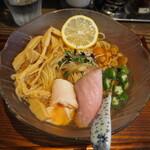 Mendokorokinari - 冷 魚介だし汁 850円
