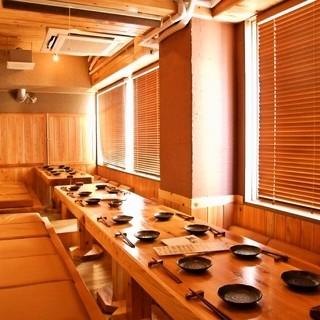 【全席個室&半個室】総席数51席のプライベート空間!