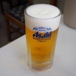 小藤食堂 - 生ビール