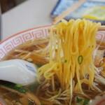 小藤食堂 - 和風しょうゆラーメン(麺)