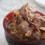 小藤食堂 - 肉吸(牛肉がたっぷり!!)