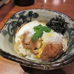 Katsukichi - 国産銘柄豚厚切りカツ丼(ひれ)