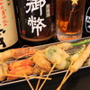 串揚げ れん - 料理写真:【串揚げ】 野菜、肉、魚貝、創作など常時30種類以上ご用意してます♪ 100円/本~