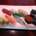13604041 - おもてなしランチの寿司