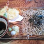 尾張屋 - 天ざる(1100円)