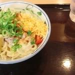 金比羅製麺 - 豚しゃぶサラダぶっかけ大580円