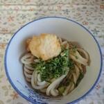 宮川製麺所 - うどん(小)と玉子天