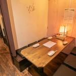 和×伊 大衆酒場カランコロン - 2階個室