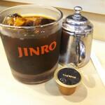大衆割烹 岩亀 - セットのコーヒー