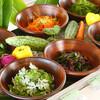 ふれあい食堂 なんと屋 - 料理写真:サラダ薬草バー