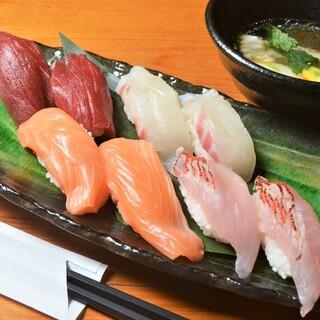 江戸前仕様の熟成「鮨」