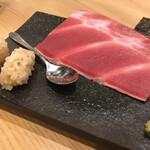 鮨・酒・肴 杉玉  - 中落ちほじくり手巻き¥439