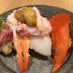 鮨・酒・肴 杉玉  - 海鮮のっけ寿司¥1,099
