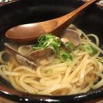 鮨・酒・肴 杉玉  - 鯛出汁あさりラーメン
