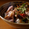 ごはんや一芯 - 料理写真:ローストポークと焼き木の子のサラダ
