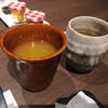 箱根 翠松園 - ドリンク写真:マンゴージュース、ほうじ茶