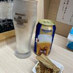 狼煙 - ドリンク写真:缶ビール 400円(お通し付き)