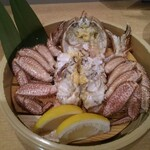 海鮮処 函館山 - 料理写真:浜ゆで毛ガニ