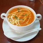 DURGA - ディナーセットのスープ