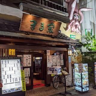 福岡の名所【西中洲】アクセス抜群!!
